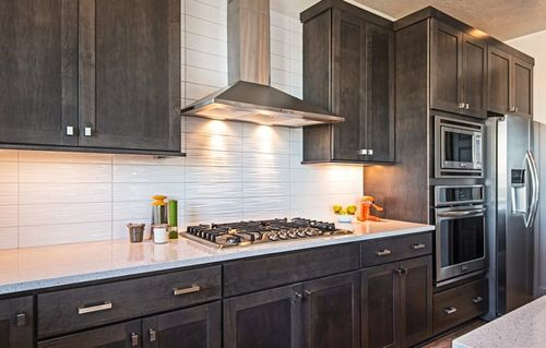 Kitchen-in-Cortina-at-Independence Cottages-in-Bluffdale