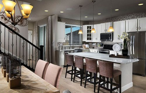 Kitchen-in-The Flourish-at-Stapleton - Beeler Park-in-Denver