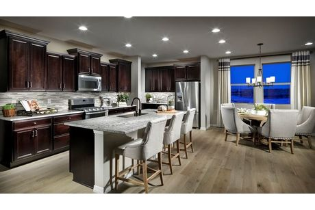 Kitchen-in-Plan 4A04-at-Inspiration - Ranch Homes-in-Aurora