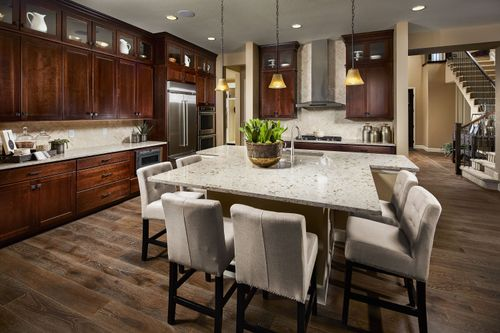Kitchen-in-The Chandler-at-Somerset Meadows-in-Longmont