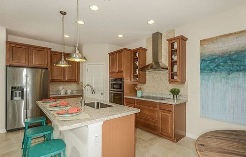 Kitchen-in-MIRAMAR A-at-Whaley's Creek - Whaley's Creek 50s-in-Saint Cloud