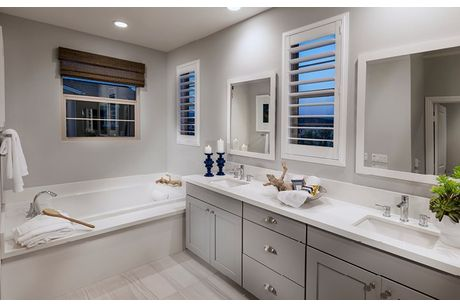 Bathroom-in-Residence 1X-at-Rancho Mission Viejo - Citron at Esencia-in-Rancho Mission Viejo