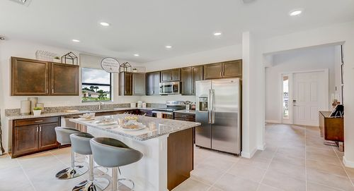 Kitchen-in-Imperial-at-Verona Trace - Single Family - Estates Collection-in-Vero Beach