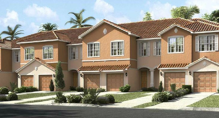 Marbella townhome exterior