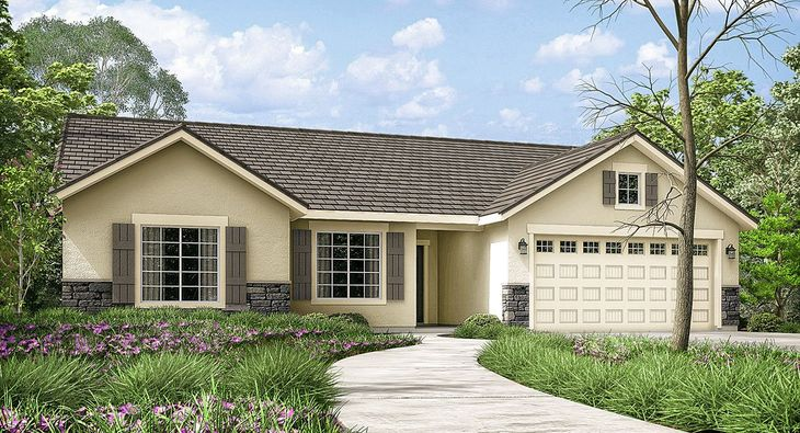 Radcliffe 2016:Elevation A - comes with tile roof