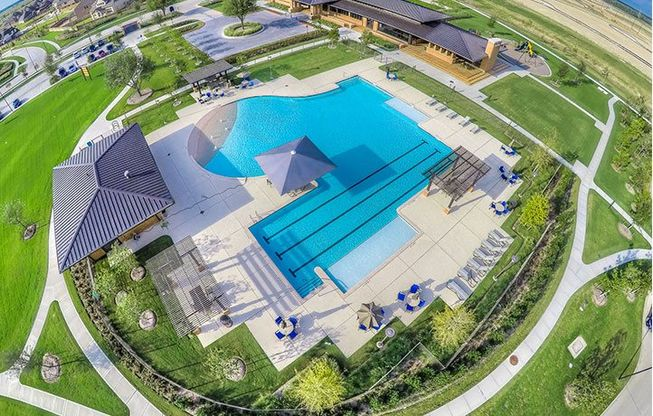 Elyson Community Amenities Aerial View