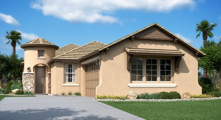 Mesquite Plan 3516 F French Country