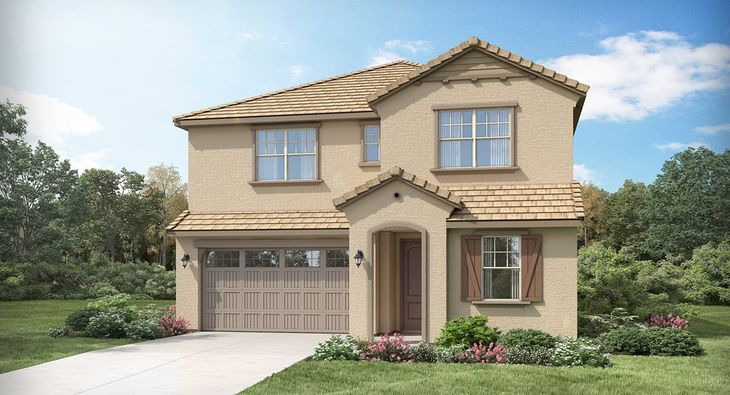 La Jolla Plan 3524 F French Country