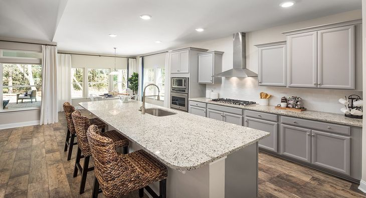 Lexington Kitchen with Optional Gourmet Upgrade