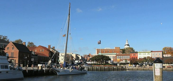 Skipjack in Annapolis
