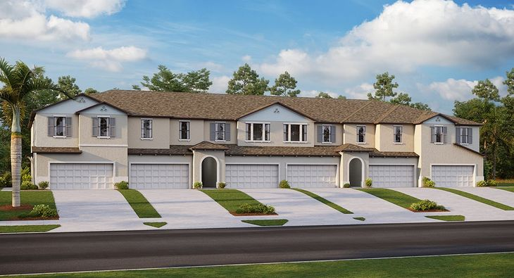 Paola Plan at Avesa in Tampa, FL by Lennar on