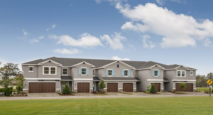 New townhomes for sale in Tampa, FL.