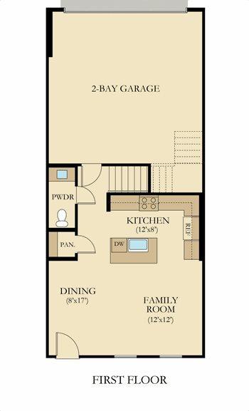 Residence 2 Plan At River Village Concord In Santa Clarita Ca By Lennar