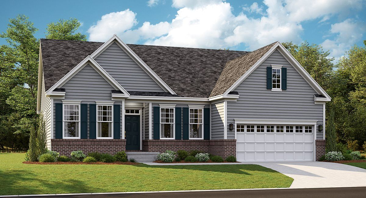 Chesapeake Ii Basement Plan At Colonial Heritage The Yorktown Collection In Williamsburg Va By Lennar