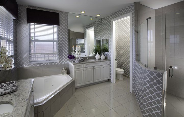 Bathroom-in-Crescent-at-MiraLago at Parkland - Executive Collection-in-Parkland