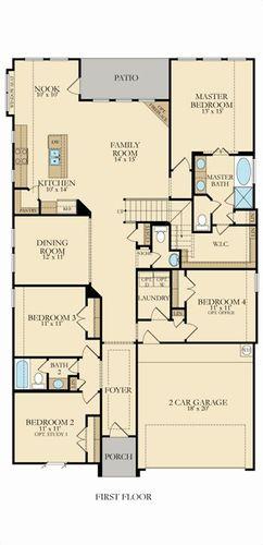 Buxton II 3783 1st floor