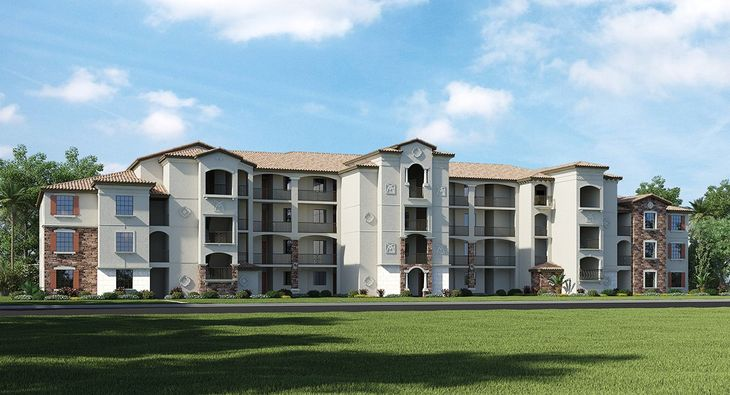 Treviso bay condominiums exterior