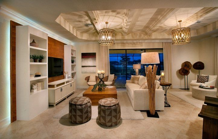 Greatroom-and-Dining-in-Victoria-at-Twin Eagles - Executive Homes-in-Naples