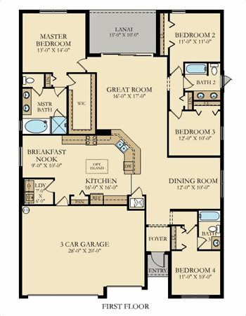 Lennar Townhomes Floor Plans