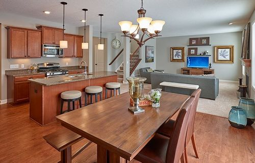 Greatroom-and-Dining-in-Hamilton-at-Ravinia - Ravinia Discovery Collection-in-Corcoran