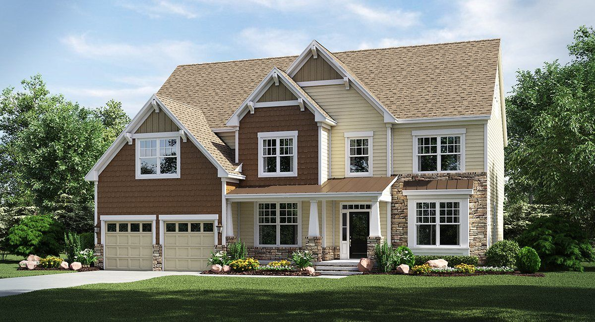 Waterford hall in davidson nc new homes floor plans by for Davidson home builders