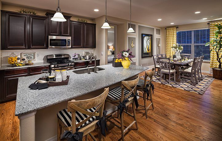 Kitchen-in-Graham-at-Sierra Ridge - The Monarch Collection-in-Parker