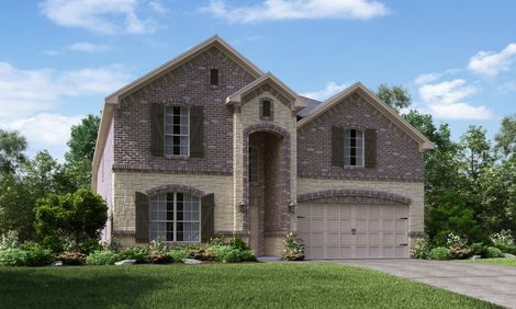Chamberlain Crossing Brookstone In Fate Tx New Homes