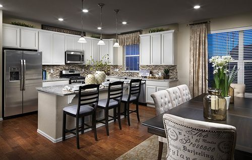 Kitchen-in-Felton-at-Amber Creek - The Monarch Collection-in-Thornton