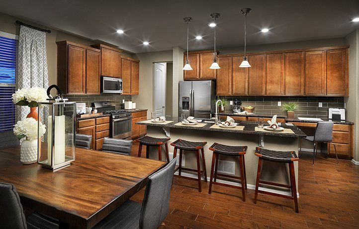 Kitchen-in-Davenport-at-Amber Creek - The Monarch Collection-in-Thornton