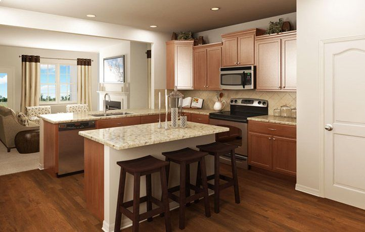 Kitchen-in-Albany-at-Chateau - East-in-Charlotte
