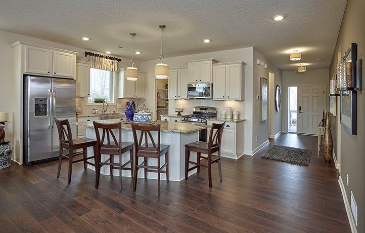 Kitchen-in-Barcelona-at-River Pointe - The Highlands of River Pointe Villas-in-Otsego
