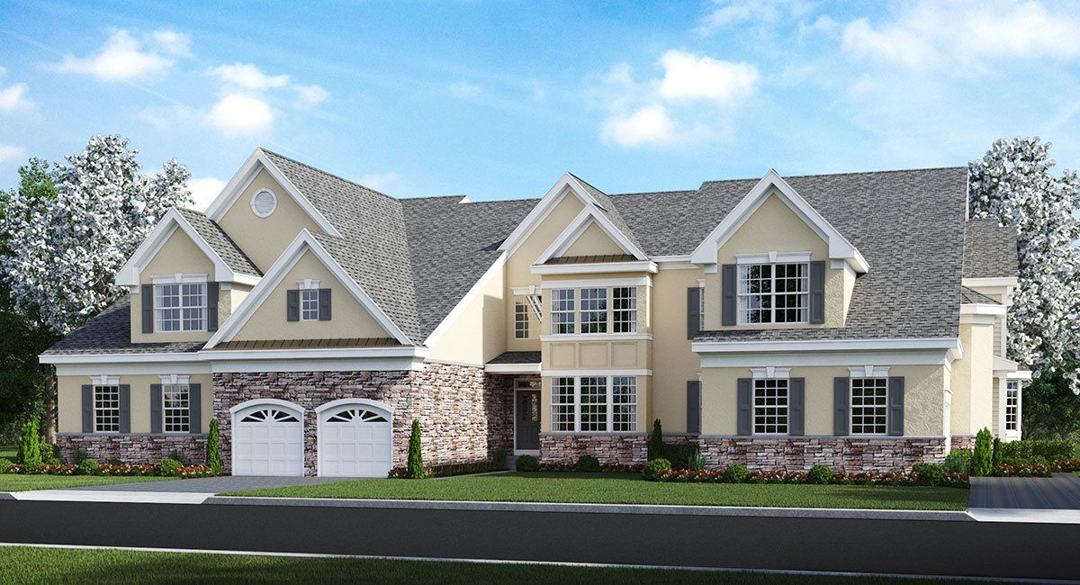 simple construction house new homes in tinton falls nj newhomesource