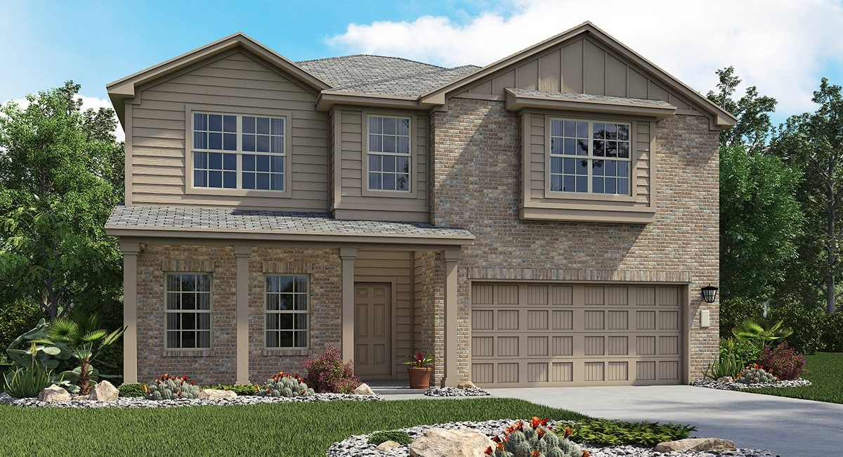 Commons At Rowe Lane In Pflugerville Tx New Homes