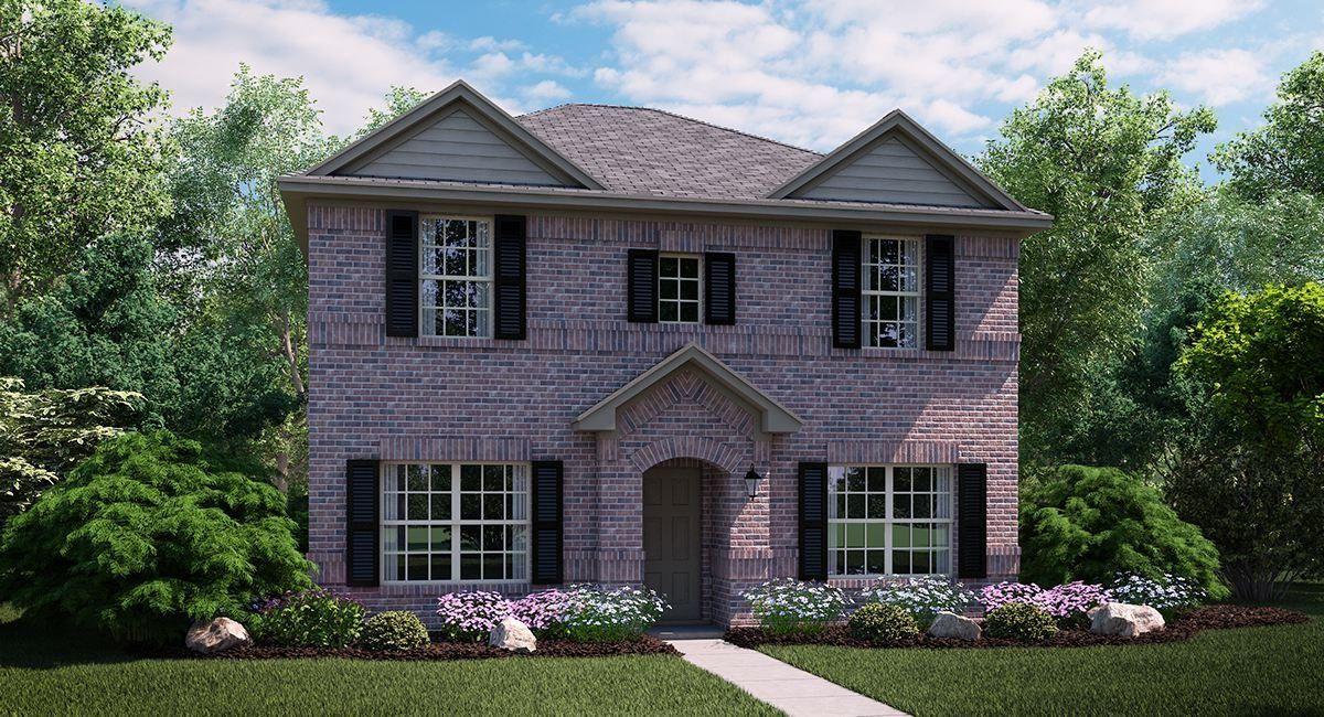 New Construction Floor Plans In Dallas Tx Newhomesource