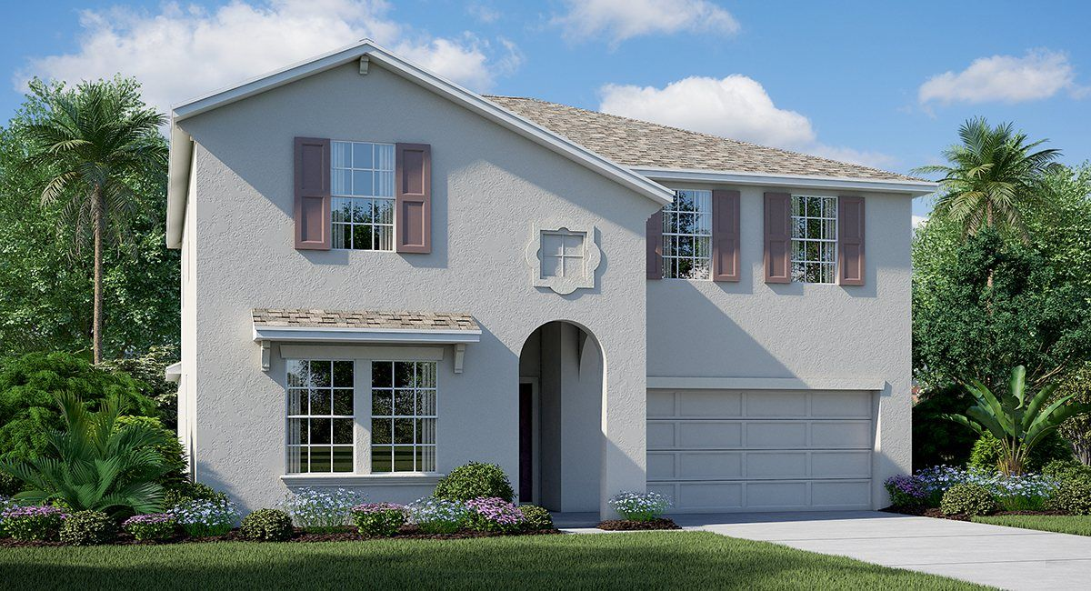 Bullfrog Creek Preserve In Gibsonton Fl New Homes