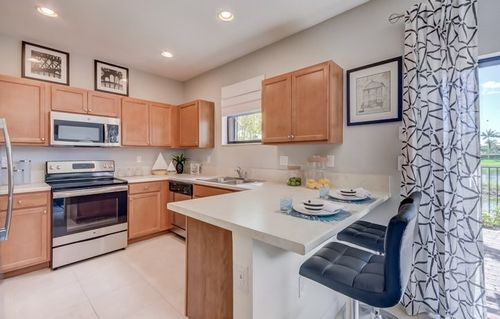 Kitchen-in-Catalina-at-Vineyards - Fresno-in-Homestead