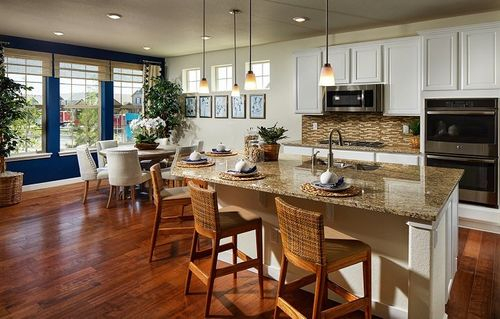 Kitchen-in-Somerton-at-Sierra Ridge - The Grand Collection-in-Parker