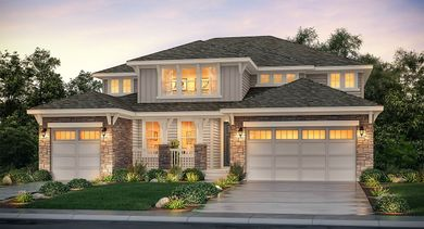 New Construction Homes And Floor Plans In Castle Pines Co