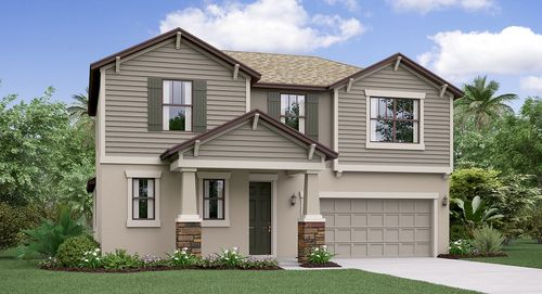 Union Park Estates By Lennar In Tampa St Petersburg Florida