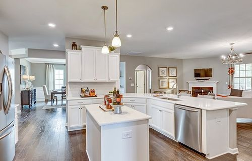 Kitchen-in-Fairview Basement-at-Tree Tops - Summit-in-Lancaster