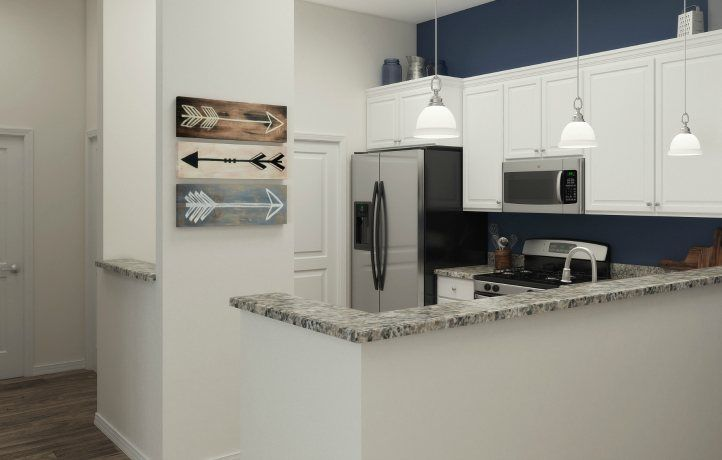 Kitchen-in-CARLSBAD-at-Monroe Parke - The Lofts at Monroe Parke-in-Monroe