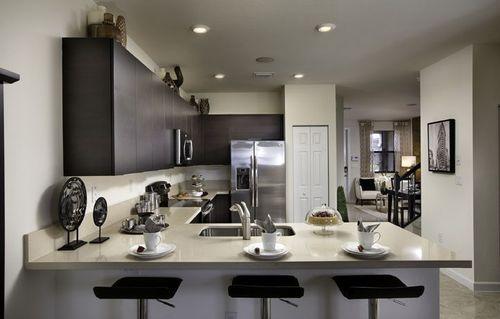 Kitchen-in-Portofino-at-Artesa - Townhomes-in-Homestead