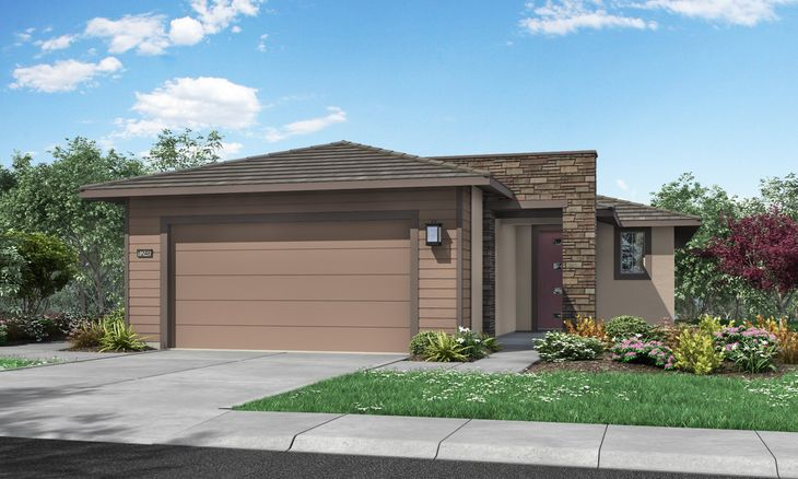 Residence 1246   Elevation A