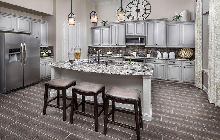 Kitchen-in-Acadia-at-Walnut Creek - Fairway Collection-in-Rosenberg