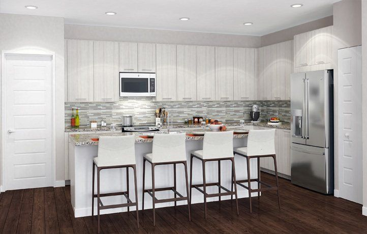 Kitchen-in-MODEL CD-at-Urbana - 2-Story Townhomes-in-Doral