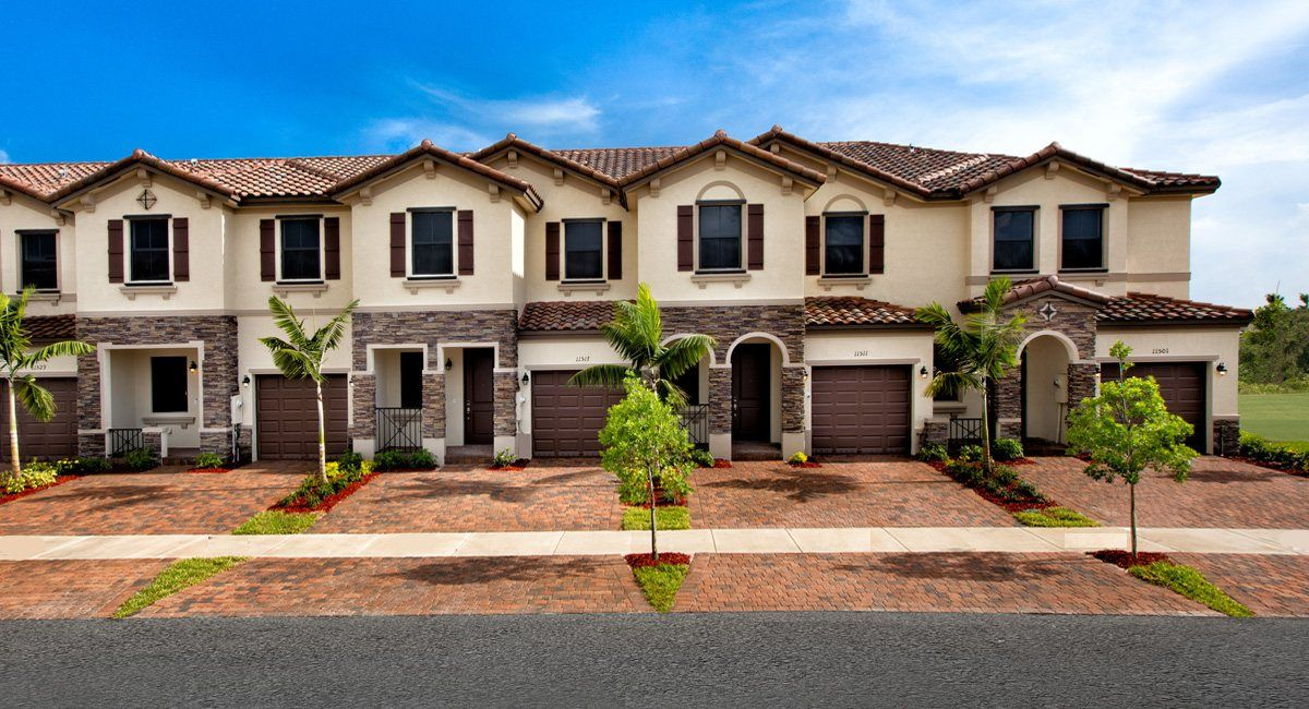 Artesa Townhomes In Homestead Fl New Homes By Lennar