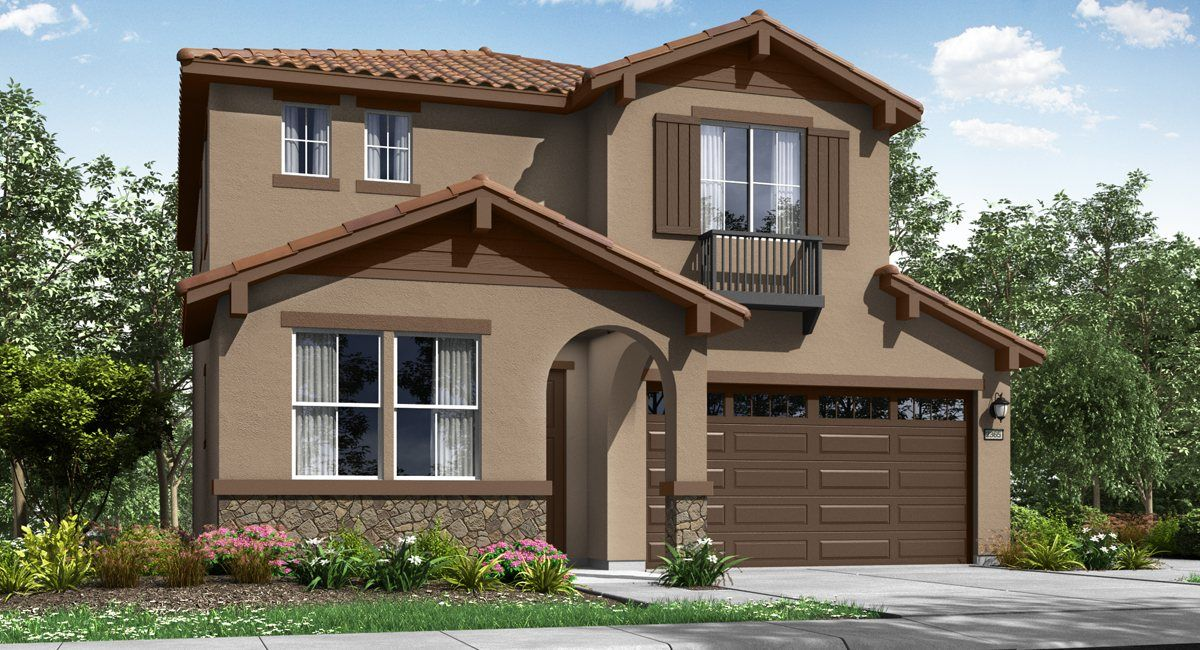 Indigo At Sterling Meadows In Elk Grove Ca New Homes
