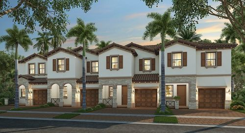 Isola Townhomes By Lennar In Miami Dade County Florida