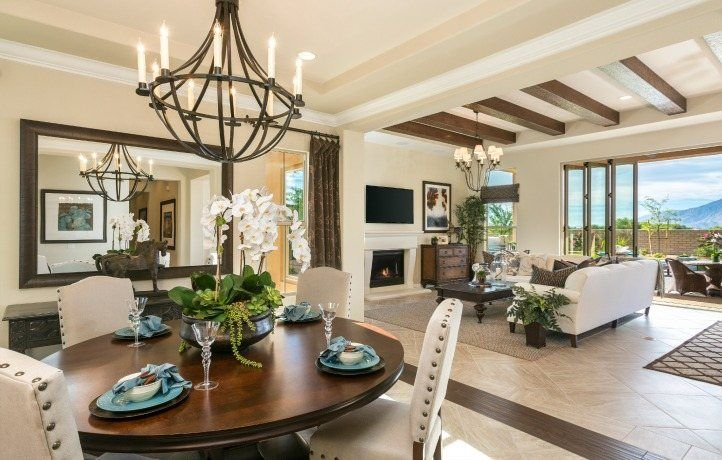 Greatroom-and-Dining-in-Residence OneX-at-Griffin Ranch - Encore-in-La Quinta