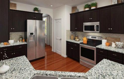 Kitchen-in-Grisham-at-Eden Park - Enclave-in-Mooresville